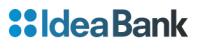 logo IdeaBank Card Blanche White